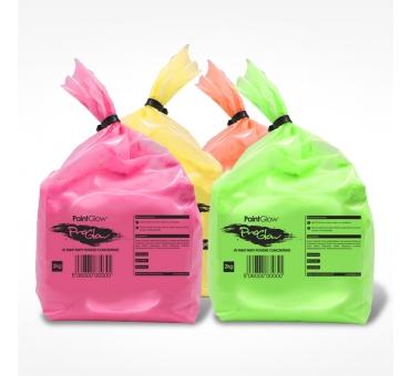 10 sachets de poudre FLUO UV Néon