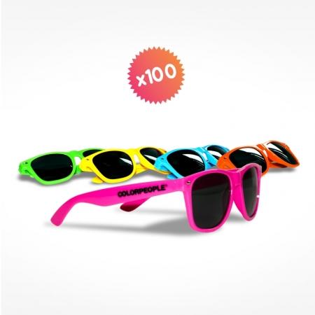 100 lunettes de soleil
