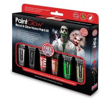 Kit de 6 tubes 13ml maquillage HALLOWEEN