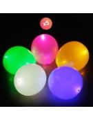 5 BALLONS LUMINEUX LED