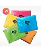5 x 1kg Holi Powder Bags